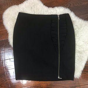 Banana Republic Pencil Skirt Stretch Black Sz 10